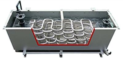 高効率『省エネ』『省力型』の排湯熱交換器!